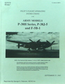 Pilot's Flight Operating Instructions For: Army Models P-38 H Series, P-38 J-5 and F-5 B-1